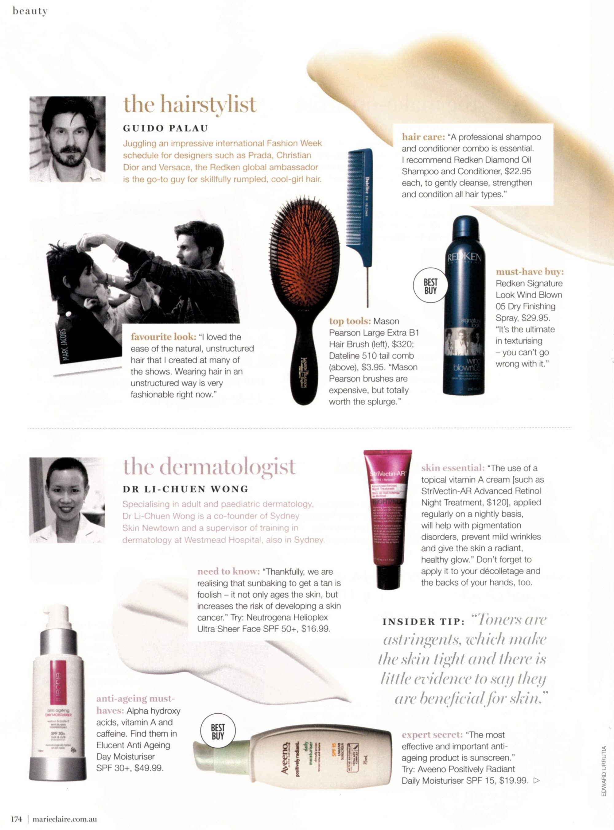 Marie Claire - March 2015 - Pg. 174